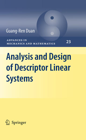 Analysis and Design of Descriptor Linear Systems - Coverbild