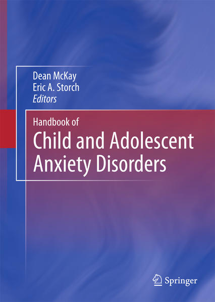Handbook of Child and Adolescent Anxiety Disorders - Coverbild