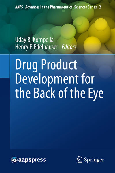 Drug Product Development for the Back of the Eye - Coverbild