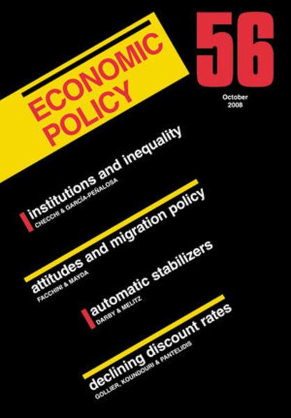 Economic Policy 56 - Coverbild