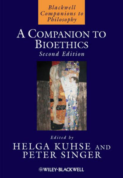 A Companion to Bioethics - Coverbild