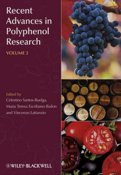 Recent Advances in Polyphenol Research, Volume 2 - Coverbild