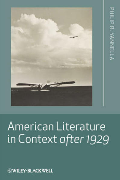 American Literature in Context after 1929 - Coverbild