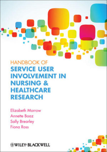 Handbook of User Involvement in Nursing and Healthcare Research - Coverbild