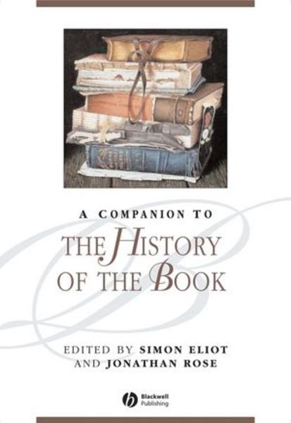 A Companion to the History of the Book - Coverbild