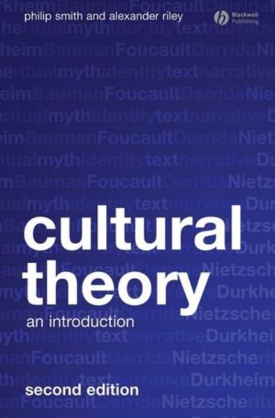 Cultural Theory - Coverbild