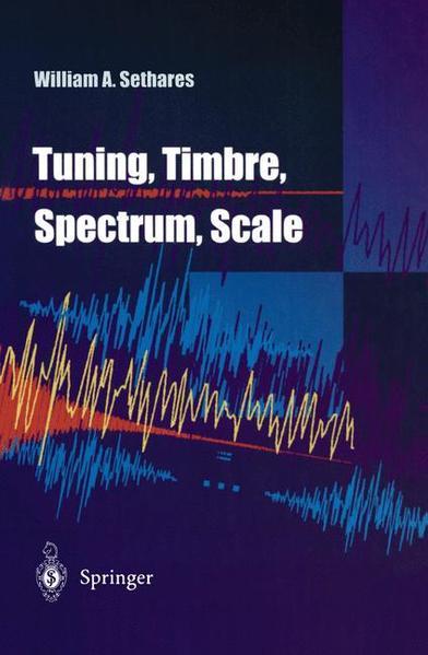Tuning, Timbre, Spectrum, Scale - Coverbild