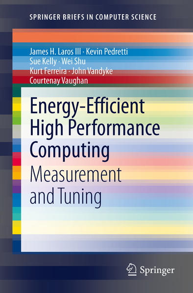 Energy-Efficient High Performance Computing - Coverbild