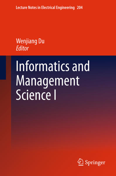 Informatics and Management Science I - Coverbild