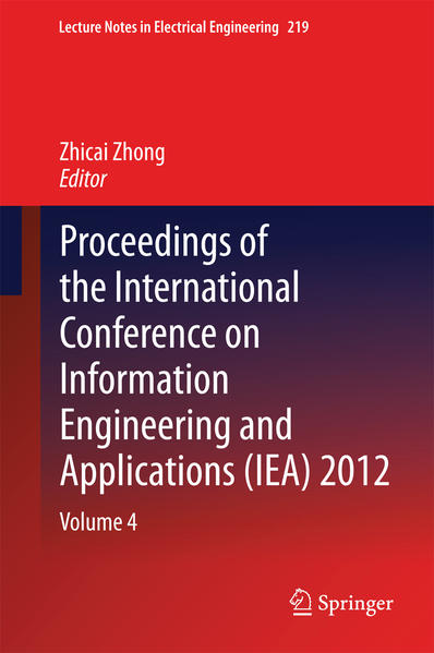 Proceedings of the International Conference on Information Engineering and Applications (IEA) 2012 - Coverbild