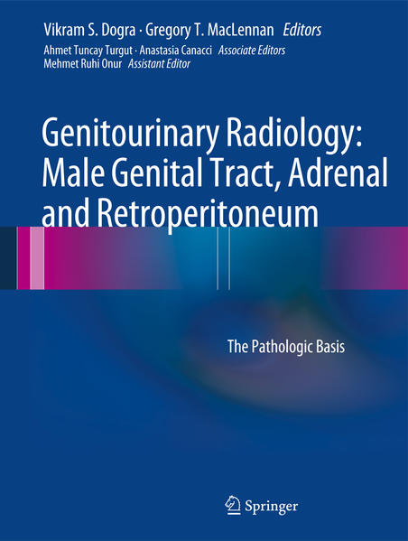 Genitourinary Radiology: Male Genital Tract, Adrenal and Retroperitoneum - Coverbild