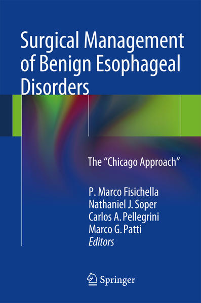 Surgical Management of Benign Esophageal Disorders - Coverbild