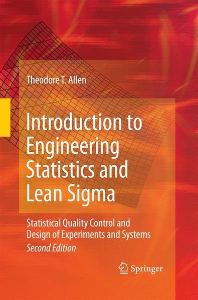 Introduction to Engineering Statistics and Lean Sigma - Coverbild
