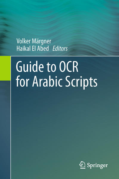Guide to OCR for Arabic Scripts - Coverbild