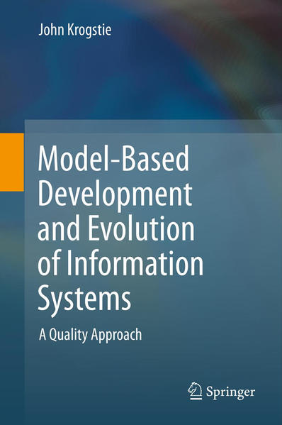 Model-Based Development and Evolution of Information Systems - Coverbild