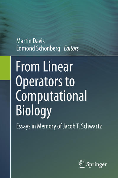 From Linear Operators to Computational Biology - Coverbild
