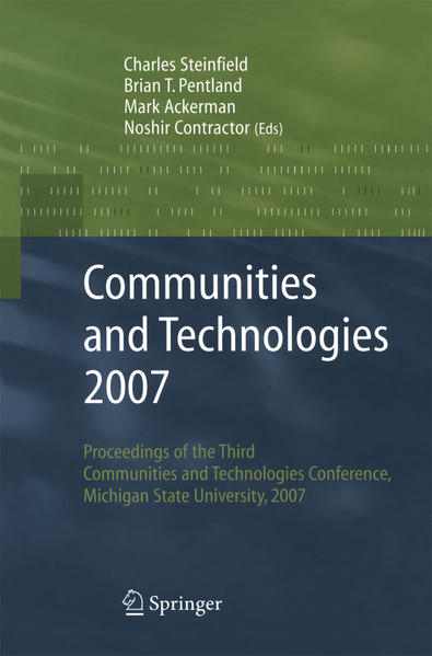 Communities and Technologies 2007 - Coverbild