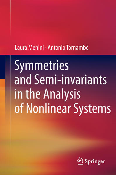 Symmetries and Semi-invariants in the Analysis of Nonlinear Systems - Coverbild