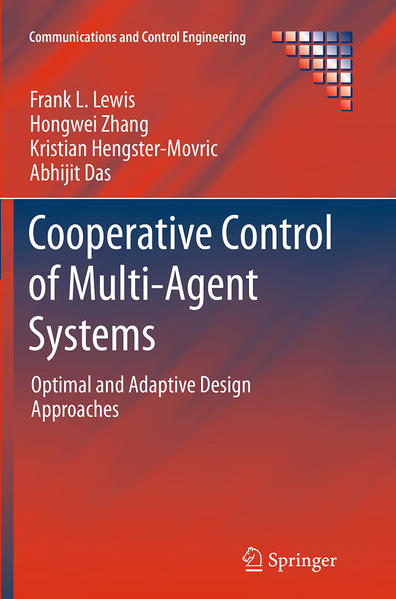 Cooperative Control of Multi-Agent Systems - Coverbild
