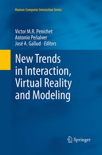 New Trends in Interaction, Virtual Reality and Modeling - Coverbild
