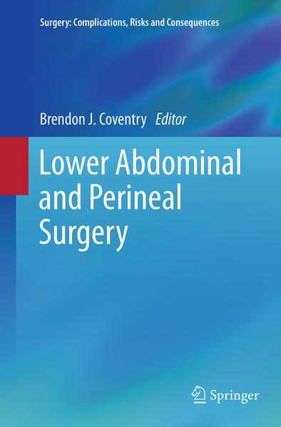 Lower Abdominal and Perineal Surgery - Coverbild