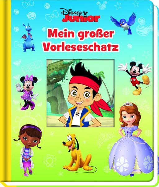 Disney Junior - Mein großer Vorleseschatz - Coverbild