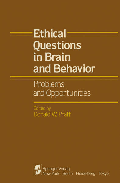 Ethical Questions in Brain and Behavior - Coverbild