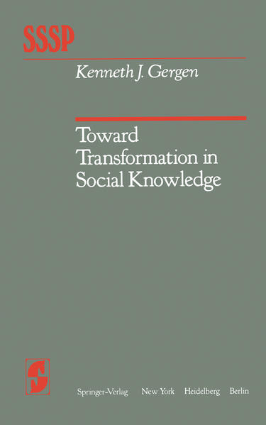 Toward Transformation in Social Knowledge - Coverbild