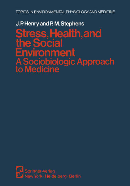 Stress, Health, and the Social Environment - Coverbild