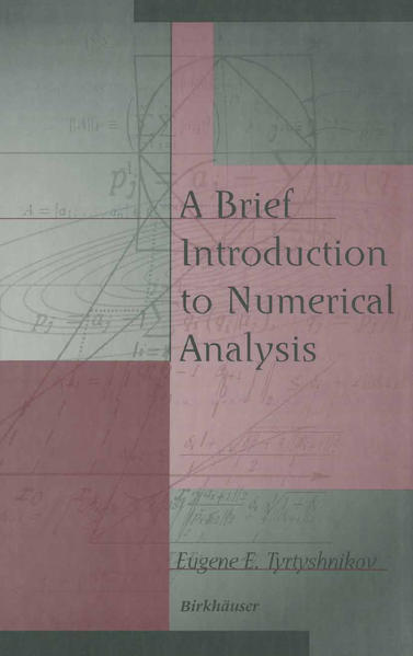 A Brief Introduction to Numerical Analysis - Coverbild