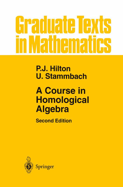 A Course in Homological Algebra - Coverbild