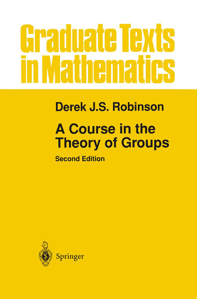 A Course in the Theory of Groups - Coverbild