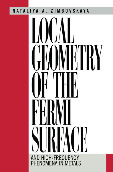 Local Geometry of the Fermi Surface - Coverbild