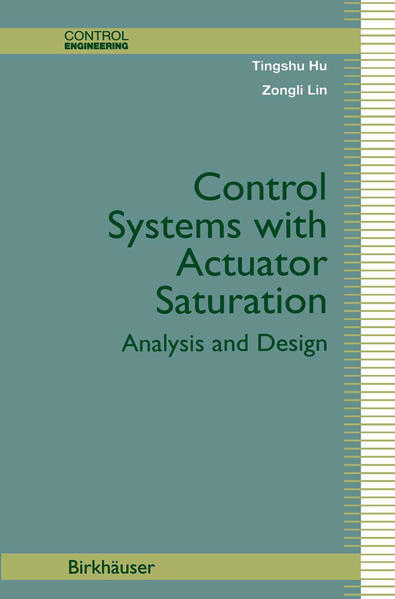 Control Systems with Actuator Saturation - Coverbild