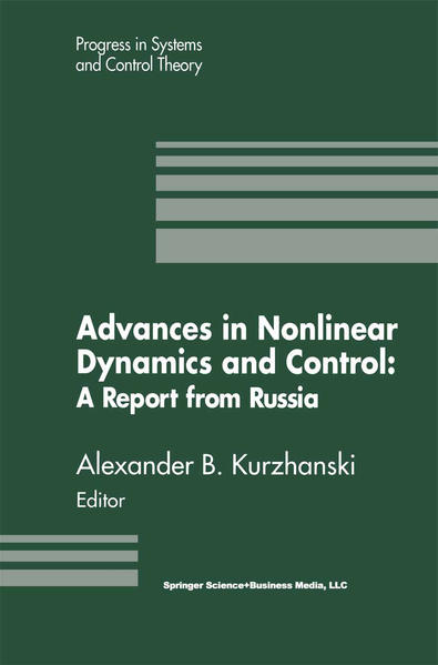 Advances in Nonlinear Dynamics and Control: A Report from Russia - Coverbild