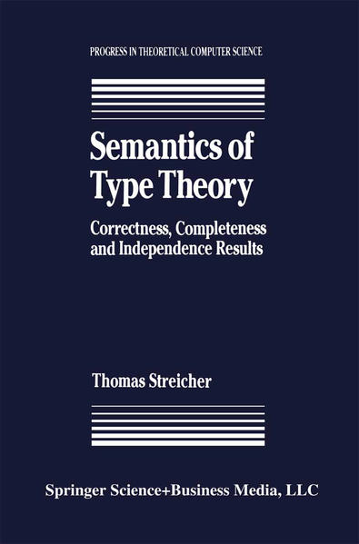 Semantics of Type Theory - Coverbild