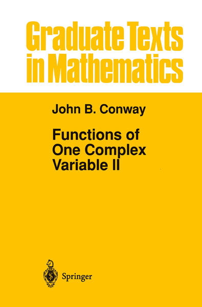 Functions of One Complex Variable II - Coverbild