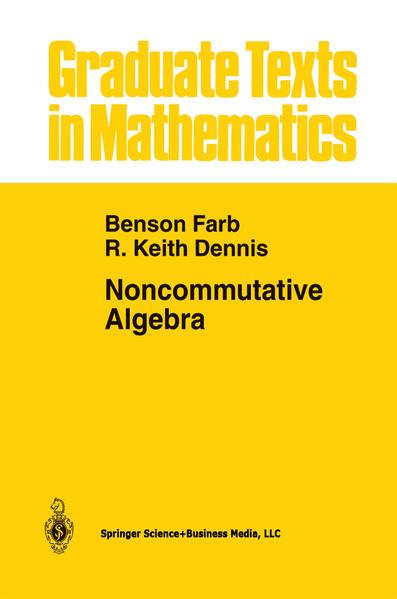 Noncommutative Algebra - Coverbild