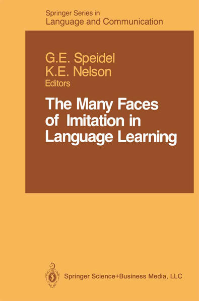 The Many Faces of Imitation in Language Learning - Coverbild
