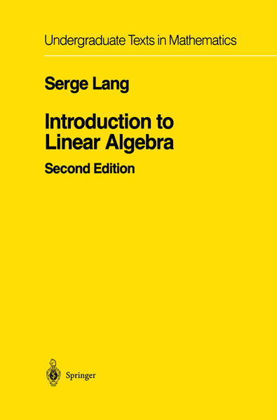 Introduction to Linear Algebra - Coverbild