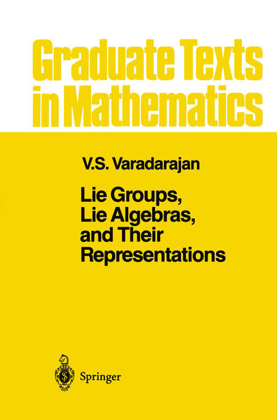 Lie Groups, Lie Algebras, and Their Representations - Coverbild