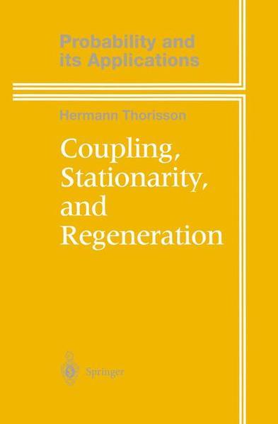 Coupling, Stationarity, and Regeneration - Coverbild
