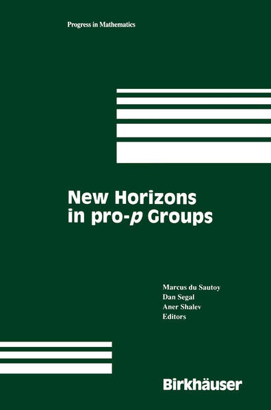 New Horizons in pro-p Groups - Coverbild
