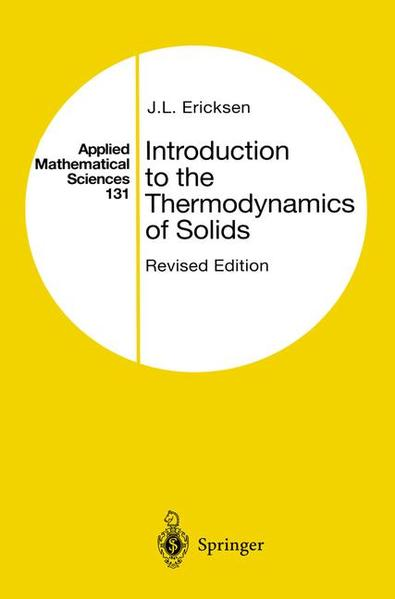 Introduction to the Thermodynamics of Solids - Coverbild