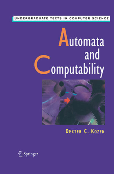 Automata and Computability - Coverbild