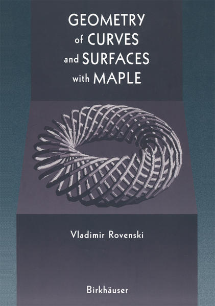Geometry of Curves and Surfaces with MAPLE - Coverbild