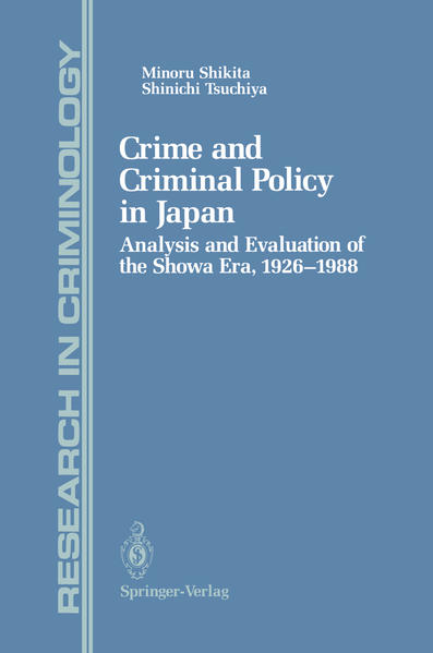 Crime and Criminal Policy in Japan - Coverbild