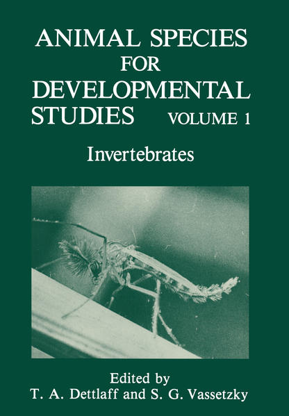 Animal Species for Developmental Studies - Coverbild
