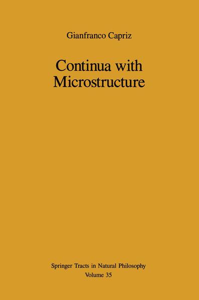 Continua with Microstructure - Coverbild