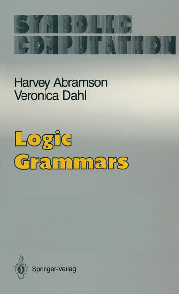 Logic Grammars - Coverbild